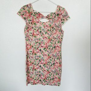 Free People Floral Bodycon Dress Size Large